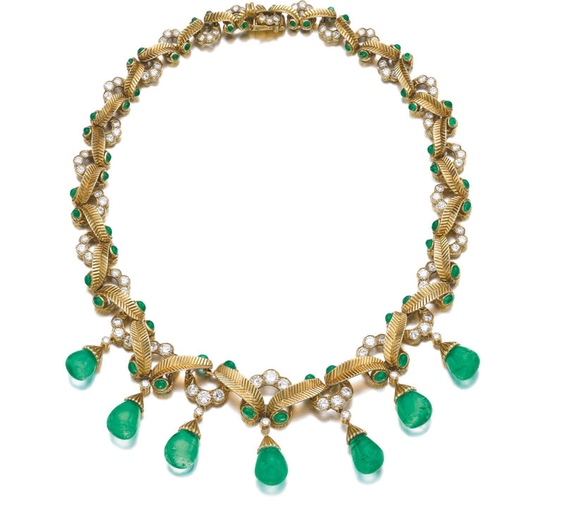 Cartier Emerald Necklace