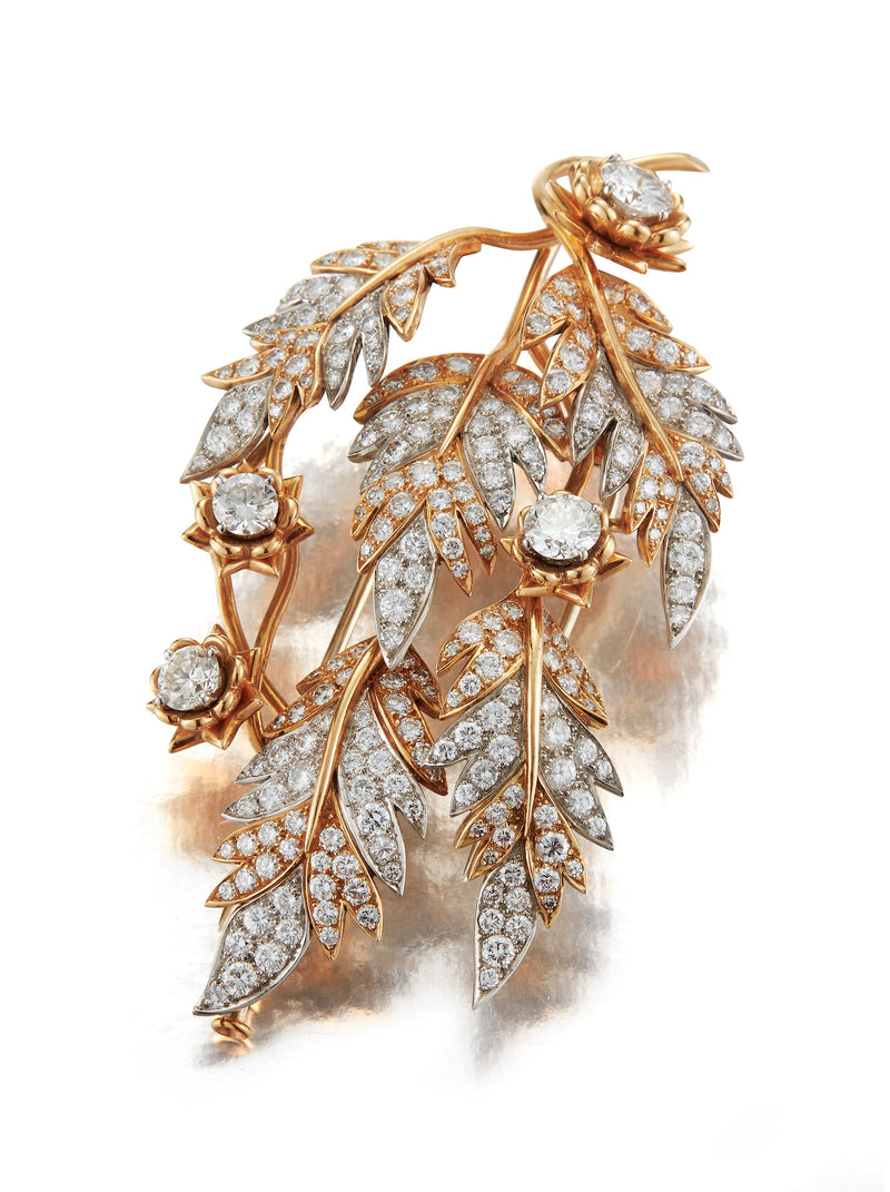 Schlumberger for Tiffany and co Diamond Brooch