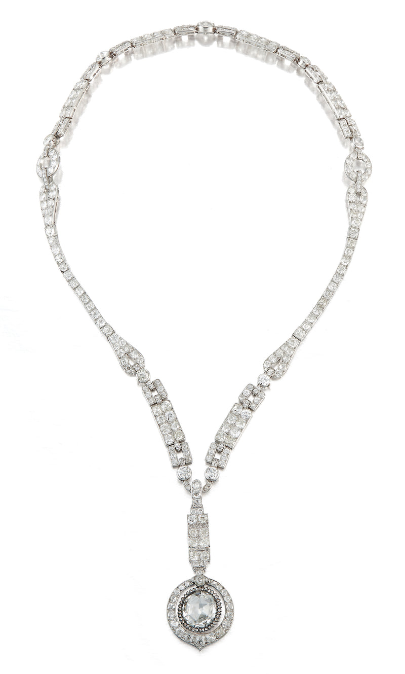 The Ely Porges Cartier Rose Cut necklace