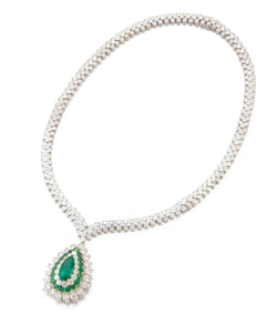 Van Cleef and Arpels Emerald Necklace