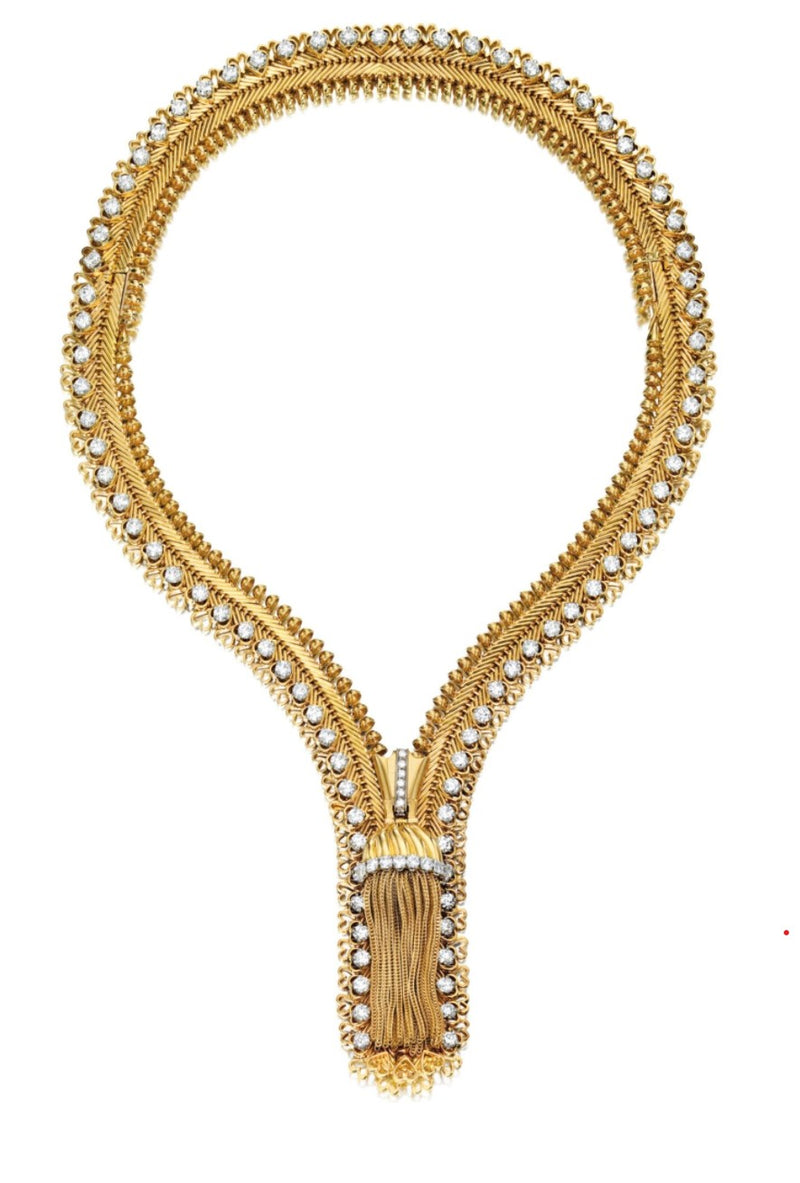 Van Cleef and Arpels Zipper Necklace