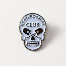 "Load image into Gallery viewer, Graverobbers Club 1"" Soft Enamel Lapel Pin"