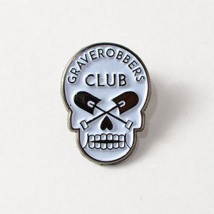 "Graverobbers Club 1"" Soft Enamel Lapel Pin"