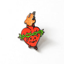 "Load image into Gallery viewer, Kool-Aid / Sacred Heart 1"" Enamel Lapel Pin"
