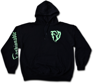 FASHIONABLE DEATH - TRIBAL REAPER HOODIE