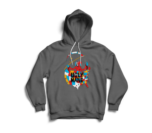 LIL UGLY MANE - 2020 TOUR ART PULLOVER HOODIE