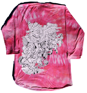 VERMIN SUPREME - AMERICAN APPAREL RAGLAN (WITH TIE DYED VARIATION)