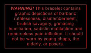 Harm Bracelet ™ by Fashionable Death