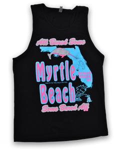 FASHIONABLE DEATH - DUMB MYRTLE BEACH SHIRT OR TANK TOP
