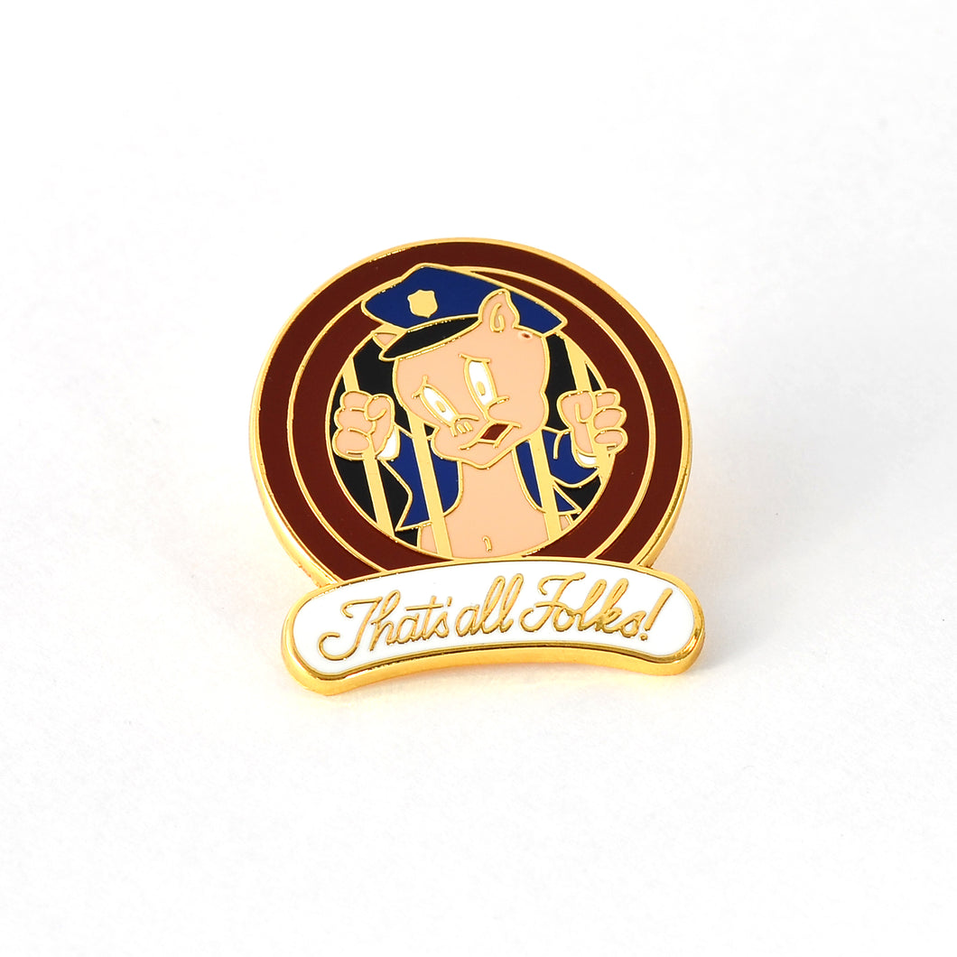 Sgt. Porker Goes to P-P-Prison Enamel Pin