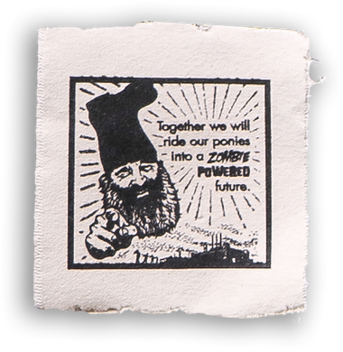 VERMIN SUPREME - CANVAS PATCH
