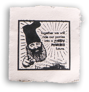 "Vermin Supreme 4"" Canvas Patch"