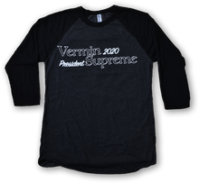 Load image into Gallery viewer, Vermin Supreme 2020 - Ringer T shirt