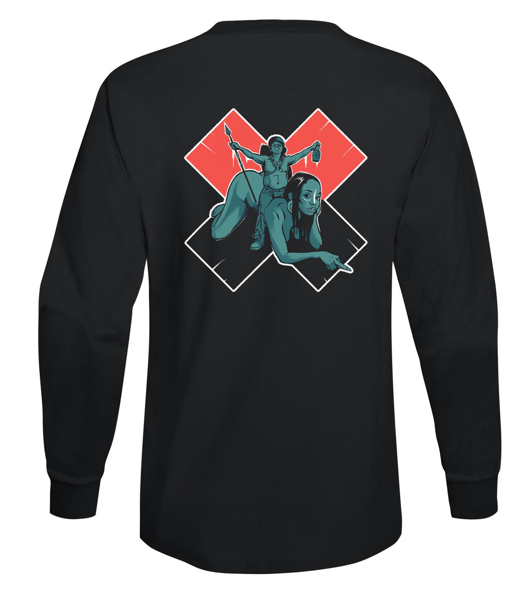 MR. MUTHAFUCKIN' EXQUIRE - RIDIN LONGSLEEVE TSHIRT