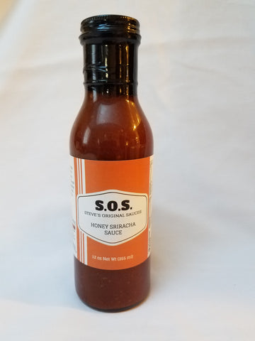 Honey Sriracha Sauce - 12 oz.