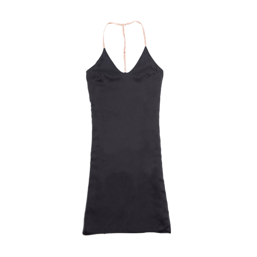 Washable Silk Dress - Washed Black