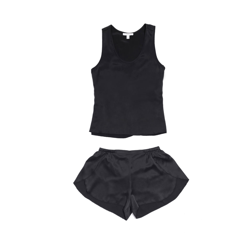 Washable Silk Set - Washed Black