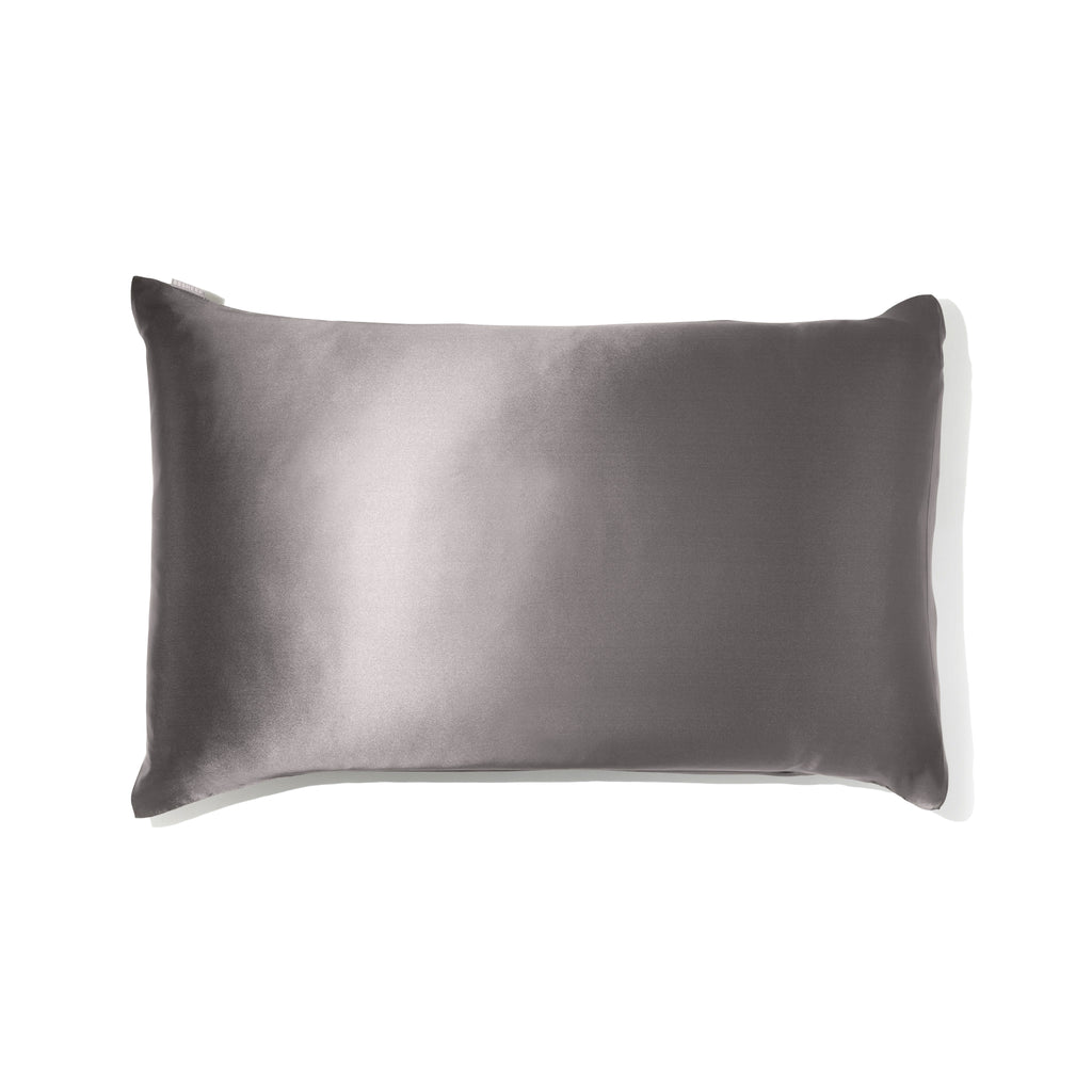 Silk Pillowcase - Anthracite