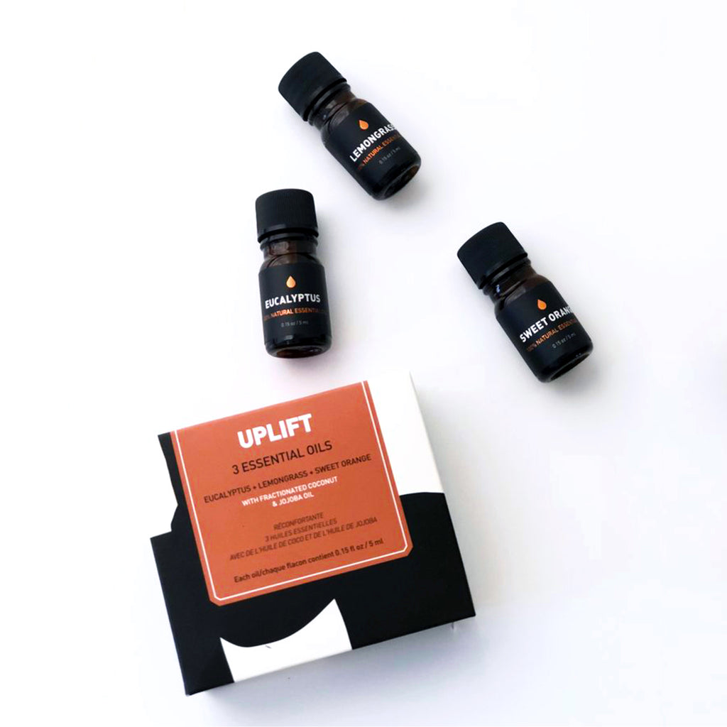 Uplift 3 Essential Oils Set