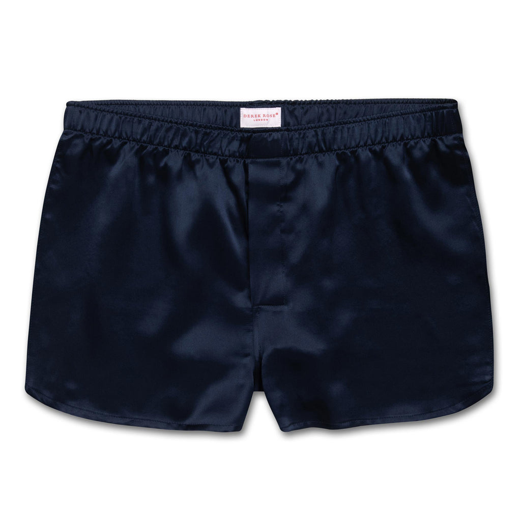 men sleep silk boxer shorts