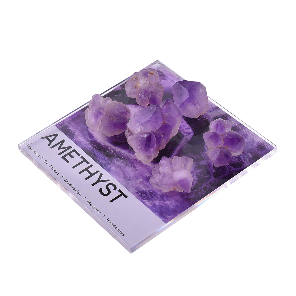 mini amethyst sleep crystal