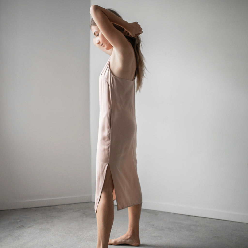 Sleepwear Silk Dress
