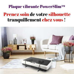 PowerSlim™ Plaque vibrante