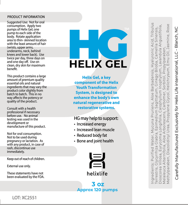 Case of Helix Gel - Six (3-oz) Bottles