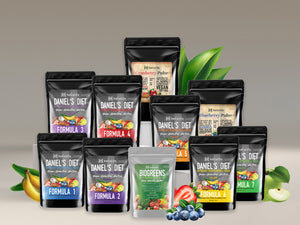 Daniel's Diet System (Formulas 1-7, BioGreens, Blueberry Pulse, Cranberry Pulse and a pH Pod)
