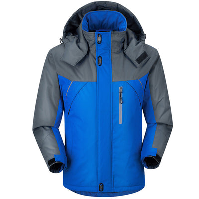 Winter Men Jacket Padded Jacket Male Thermal Coat Men Tourism Jackets Outerwear Waterproof Windproof Chaqueta M-Xxxxl