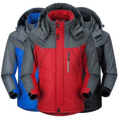Winter Men Jacket Padded Jacket Male Thermal Coat Men Tourism Jackets Outerwear Waterproof Windproof Chaqueta M-Xxxxl img 4