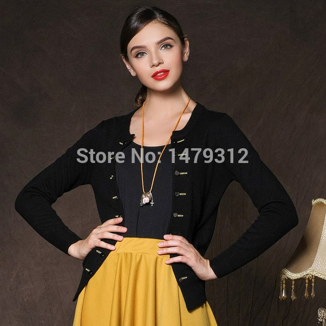 Double Breasted Spring Winter Sweater Cashmere Cardigan Plus Size Clothing Cashmere Cardigan Loose Outerwear img 1