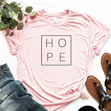 Load image into Gallery viewer, Women Tshirt Faith Hope