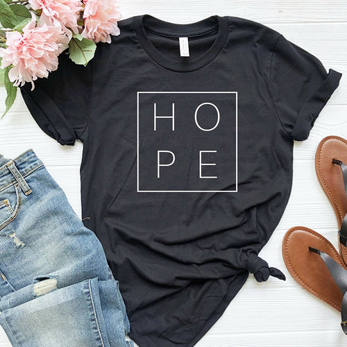 Women Tshirt Faith Hope