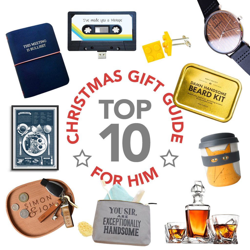 Christmas gift guide 2019 - For Him