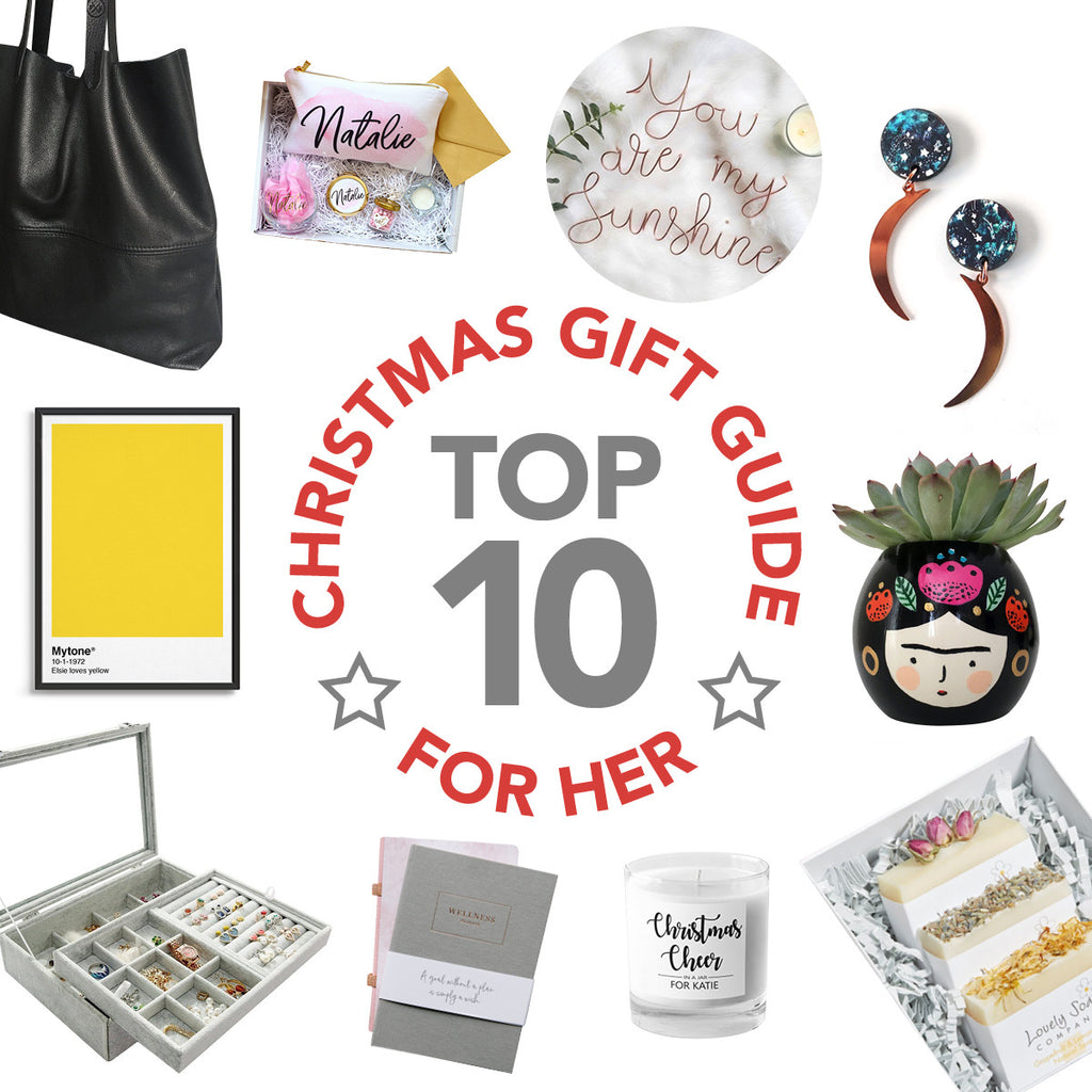 Christmas Gift Guide 2019 - For Her