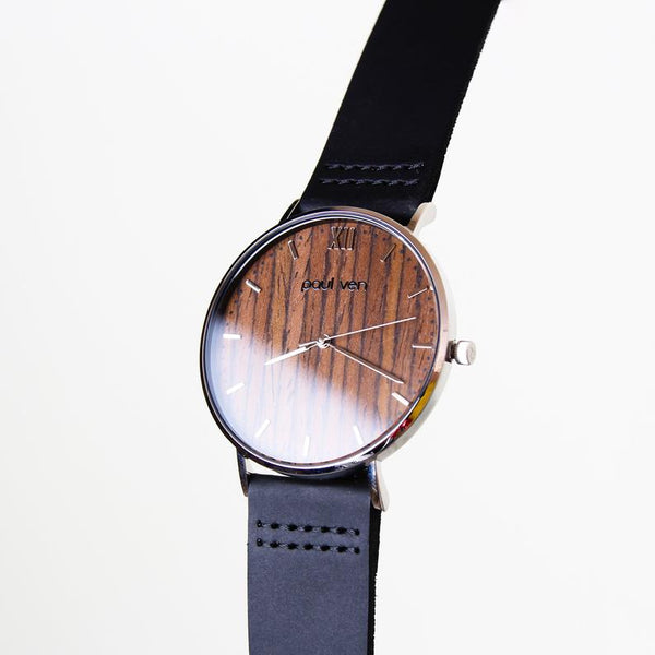 Paul Ven Store Wooden Dial Watch