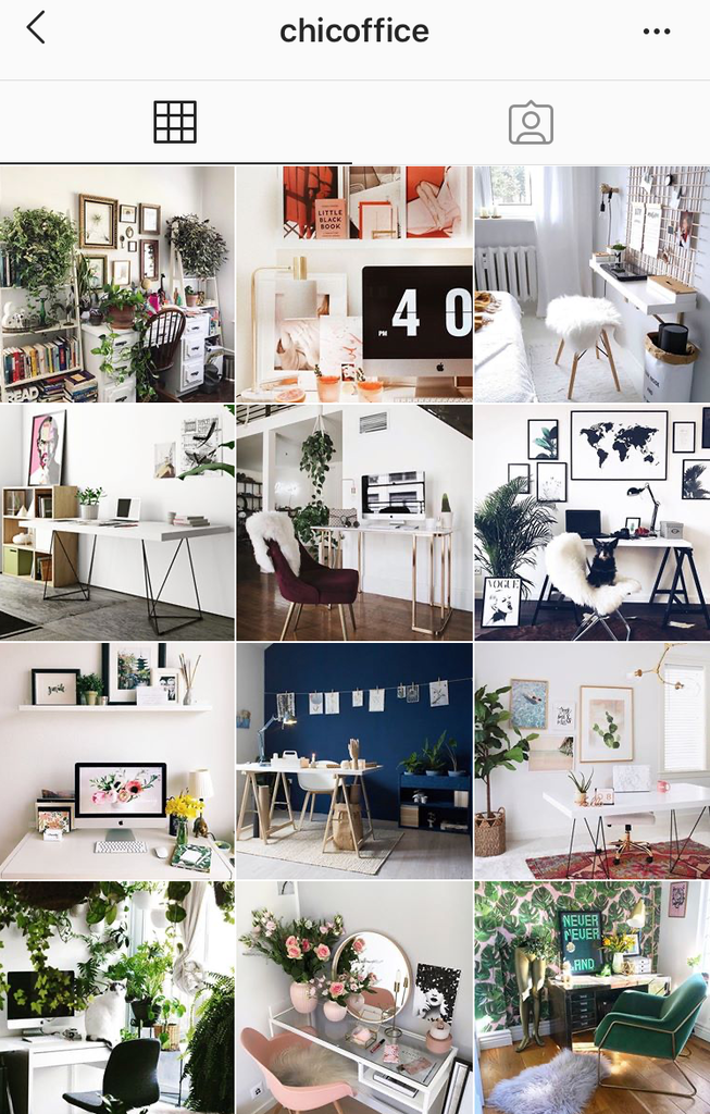 @chicoffice home office interiors inspiration on instagram