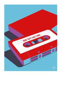 Retro mixtape