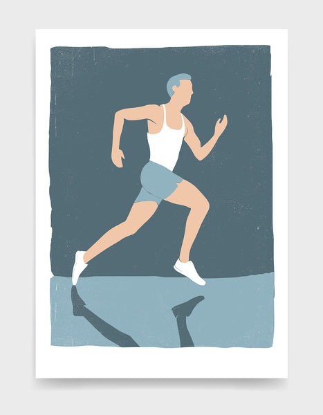 Looking for gift ideas for a marathon runner? Or a new print for your own gallery wall? Our vintage screenprint style running art prints are made to order with love - we pride ourselves on creating all of our own artwork, providing excellent customer service and only using the best quality materials so you can be sure of gallery quality artwork and a happy buying experience every time.