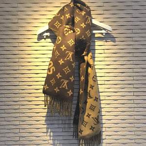 LOUIS VUITTON MP1891 17aw Supreme Louis Vuitton Monogram Scarf ルイヴィトン×シュプリーム モノグラム メンズ レディース マフラー ユニセックス - brandshop-reference