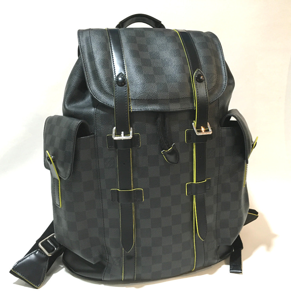 LOUIS VUITTON N41574 バックパック リュックサック クリストファーPM ダミエグラフィット リュック・デイパック - brandshop-reference