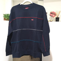 Supreme 17AW Multicolor Piping Pique Crewneck 長袖 ロンT メンズ トップスその他 - brandshop-reference