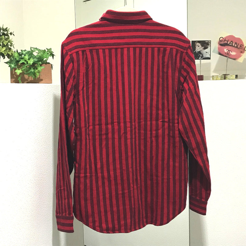Supreme フランネルシャツ 18FW Stripe Heavyweight Flannel Shirt アパレル メンズ 長袖シャツ - brandshop-reference