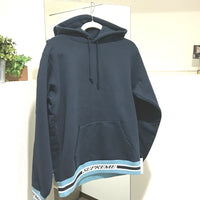 Supreme 18AW Striped Rib Hooded Sweatshirt  パーカ トップス コットン メンズ パーカー - brandshop-reference