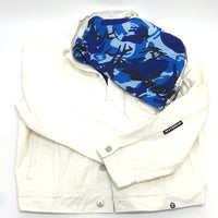 AAPE BY A BATHING APE AAPE LIGHT JACKET デニムジャケット コットン メンズ - brandshop-reference