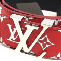 LOUIS VUITTON MP015 17aw Supreme Louis Vuitton LV Initiales 40 MM Belt モノグラム サンチュール LV イニシャル ルイヴィトン×シュプリーム レザー メンズ ベルト