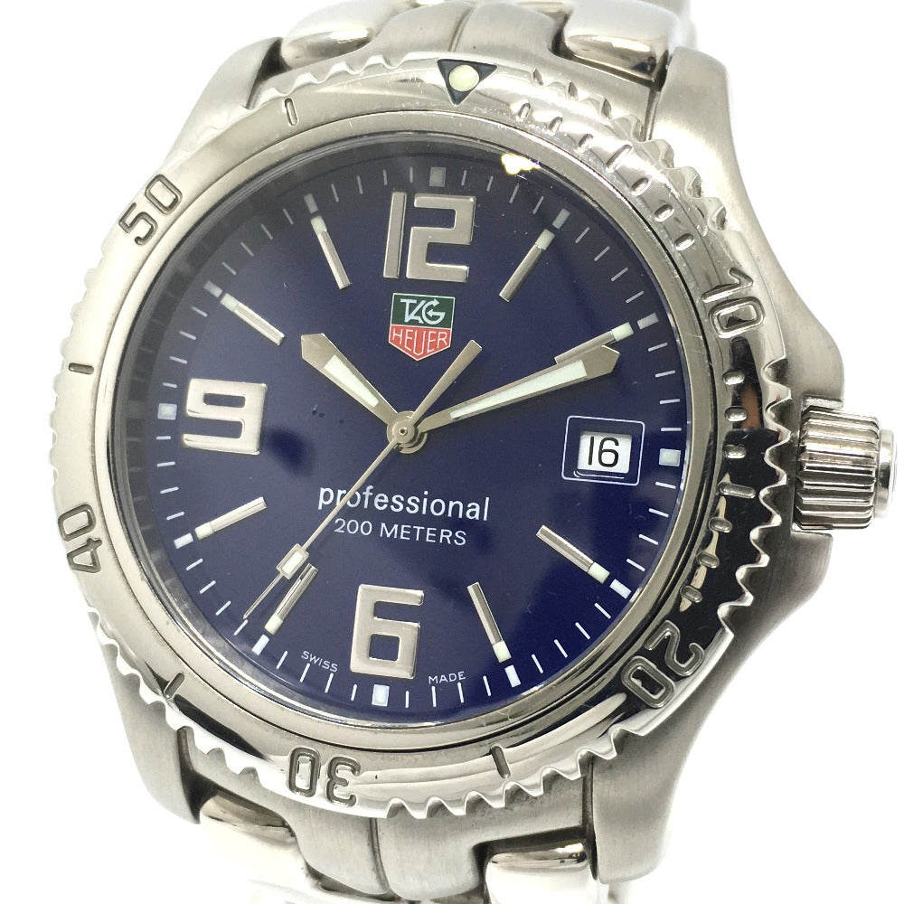 TAG HEUER WT1113 リンク 200m プロフェッショナル デイト クオーツ 腕時計 SS メンズ - brandshop-reference