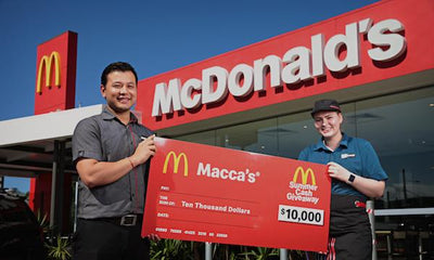 Macca's Summer Cash Giveaway