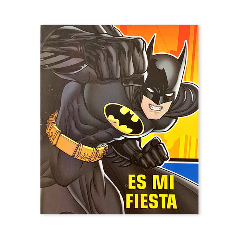 Invitaciones Batman 6 pzs.